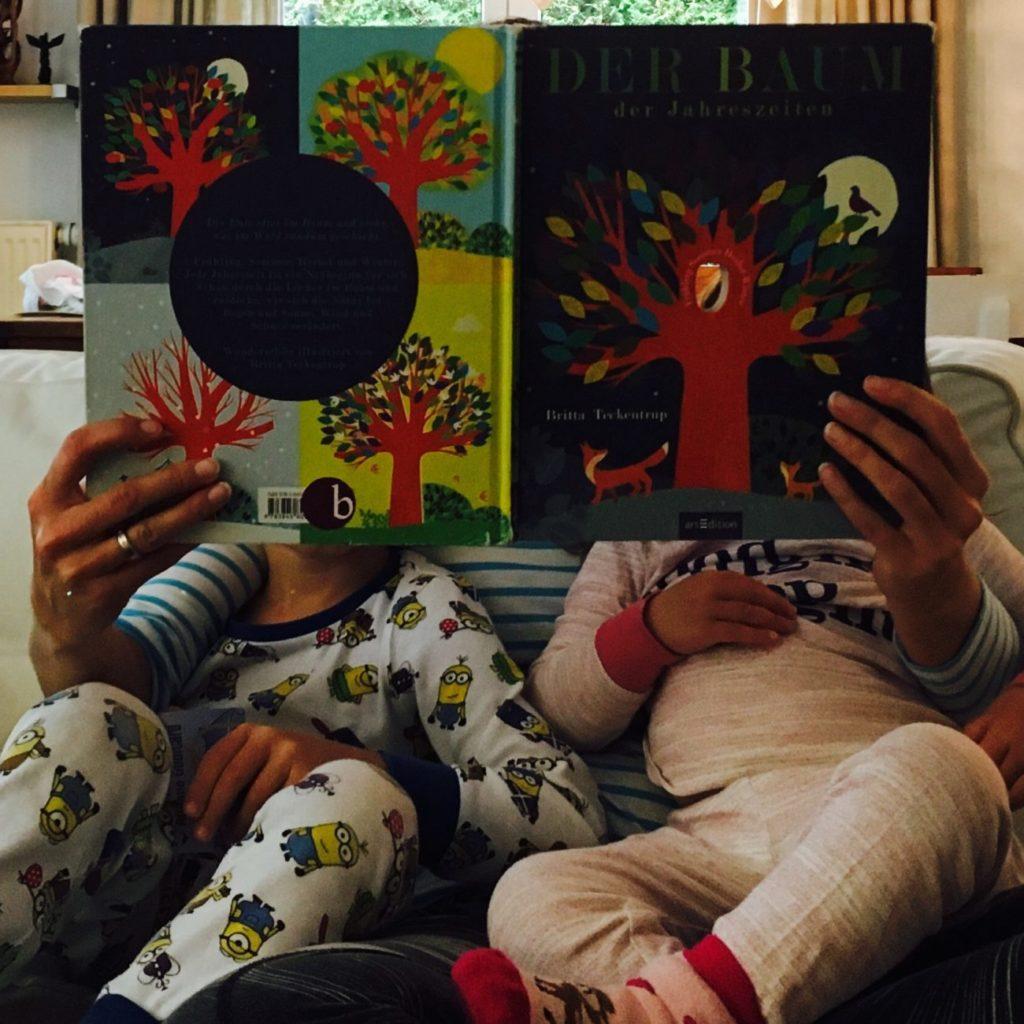 Vorlesezeit bei den bummelkindern